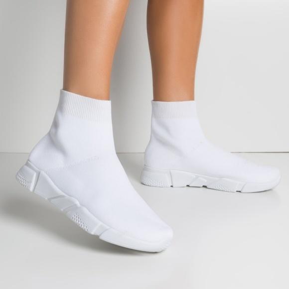 Shoes   White Sock Sneaker   Poshmark